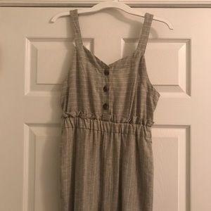 NWT Linen Jumpsuit
